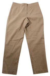 Talbots New Camel Wool Blend Straight Pants BEIGE