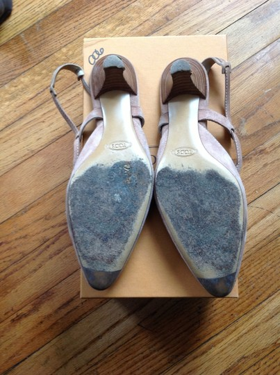 Tod's Pale pink Flats