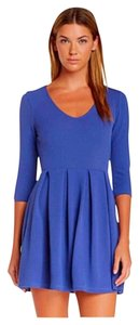 Lush short dress French Blue on Tradesy