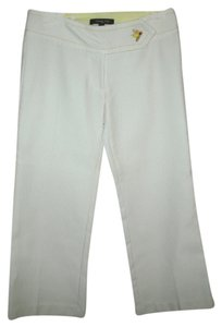 Wendy Hil Capris White/Yellow