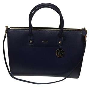 Furla Satchel in Navy Blue