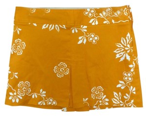 Sisley Mini Skirt Orange