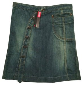 Diesel Denim Jeans Casual Skirt Blue