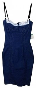 Dolce&Gabbana short dress Blue on Tradesy