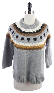 H&M New Fair Isle Wool Alpaca Sweater