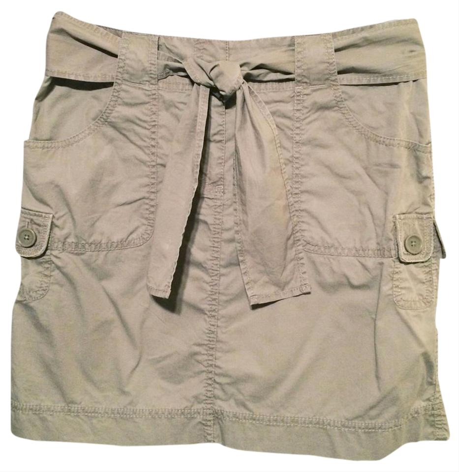 Khaki O Cargo Mini Skirt Nwt The Length Is 17 Inches Images Courtesy Of Prettylittlething Skirts
