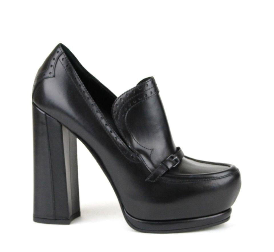 Bottega Pump Veneta Black1000 Leather Heel Pump Bottega Black 40/10 331391 Platforms 4765d8