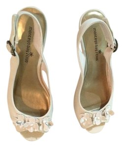 Montego Bay Club White or Beige Wedges