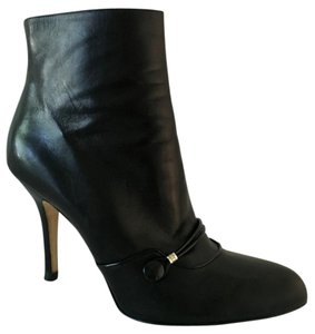Dior Leather Mary Jane Rare Black Boots
