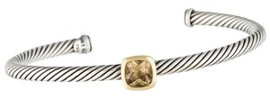 David Yurman Sterling silver David Yurman Noblesse Cuff smoky quartz set cuff bracelet