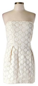 French Connection Sleeveless Lace Shift Sheath Dress