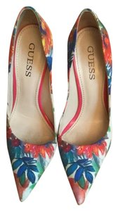 Guess Pint, Multi, Floral Pumps