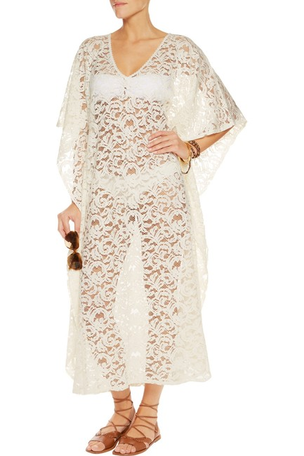 Item - White Abigail Cover-up/Sarong Size OS (one size)