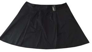 Lane Bryant Mini Skirt Black