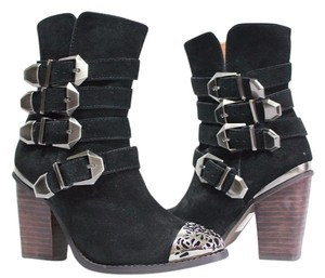 Free People Jeffrey Campbell Rocker Black Boots