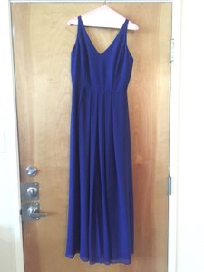 Adelyn Rae Royal Blue Show Of Decorum Maxi Dress