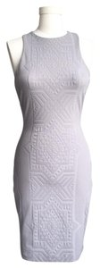 LaPina by David Helwani Textured Sleeveless Dress