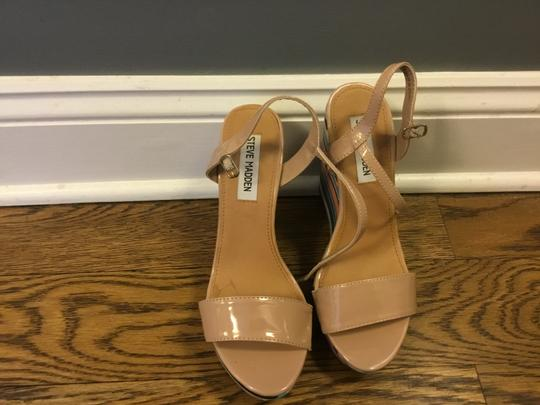 Steve Madden Nude - Multi color Wedges