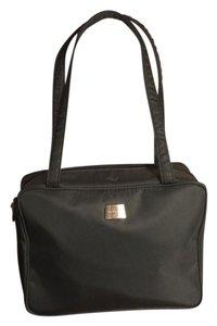 Perlina Satchel in Black/Silver