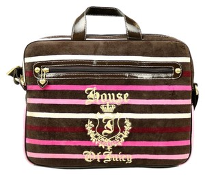 Juicy Couture Stripes Laptop Bag