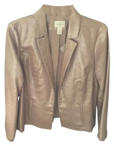 Chico's Glimmering blush Jacket