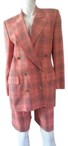 Escada ESCADA Plaid Shorts Suit