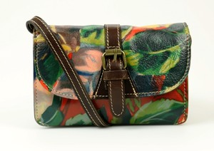Patricia Nash Designs Torri Leather Print Cross Body Bag