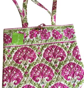 Vera Bradley Tote in Purpuple-green
