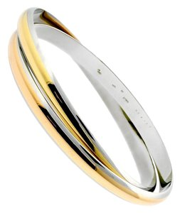 Cartier Cartier Interlocking Gold Stainless Bangle