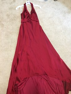 David's Bridal Apple (Red) Dress