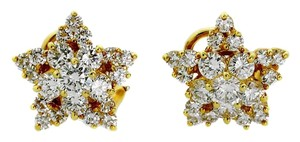 Tiffany & Co. Tiffany Star Diamond Gold Earrings
