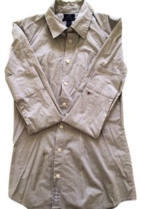 Tommy Hilfiger Button Down Shirt Grey