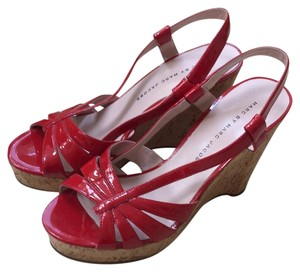 Marc by Marc Jacobs Red Wedges