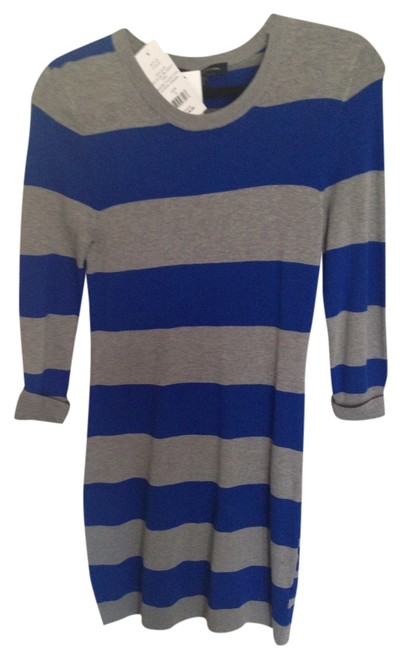 Preload https://item3.tradesy.com/images/french-connection-dress-electric-blue-and-grey-1761347-0-0.jpg?width=400&height=650