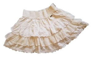Hollister Mini Skirt White