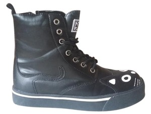 T.U.K Punk Sneakers Kitty 90's Black Athletic