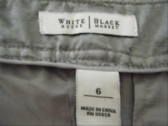 White House | Black Market Cargo Pants Silver Gray