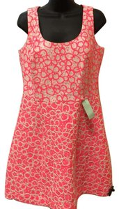 Lilly Pulitzer short dress Pink/White on Tradesy