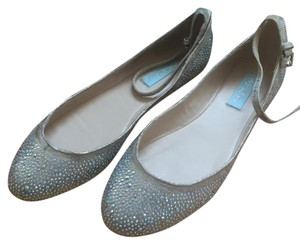 Betsey Johnson Blue By Champagne Flats