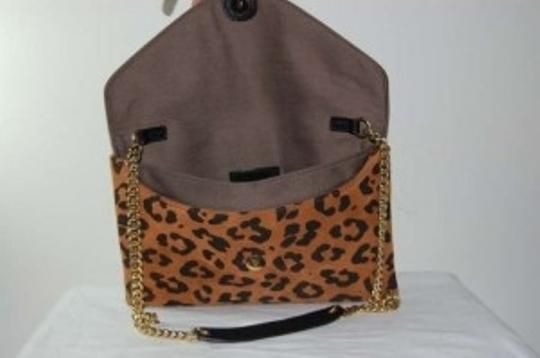 J.Crew Night Out Date Night Gold Hardware Exclusive Cheetah Print Clutch