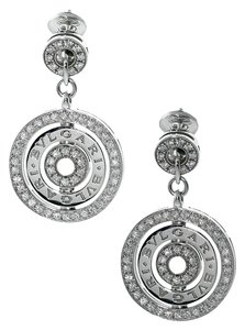 BVLGARI Bulgari Astrale Diamond White Gold Earrings