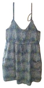 Aerie short dress Poka dot multi color Misses Short Sundress on Tradesy