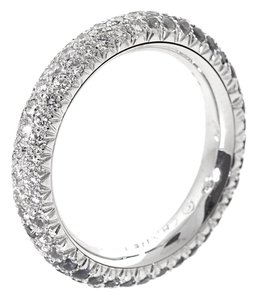 Chanel Chanel Sapphire Diamond Spinning White Gold Ring