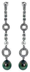 Cartier Cartier Himalia Pearl Diamond White Gold Earrings