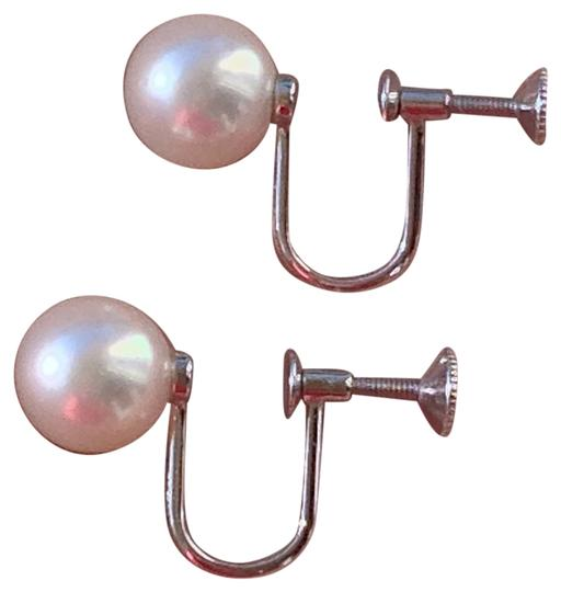 Mikimoto * Reserved for Lucy * MIKIMOTO Akoya Pearl Earrings in 18K Gold