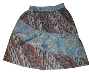 Mexicali Blues Skirt Mocha multi