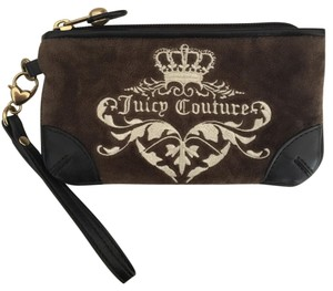 Juicy Couture Wristlet in Chocolate Brown