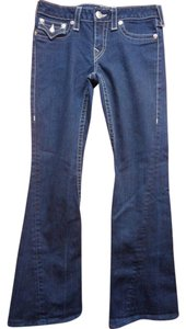 True Religion Joey Boot Cut Jeans-Dark Rinse