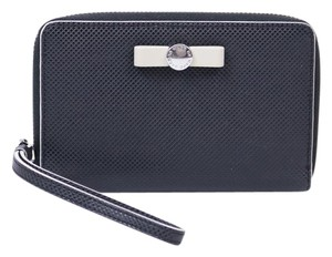 Marc Jacobs Leather Wristlet in Black