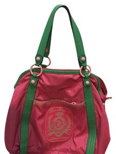 Juicy Couture Tote in Pink And Green